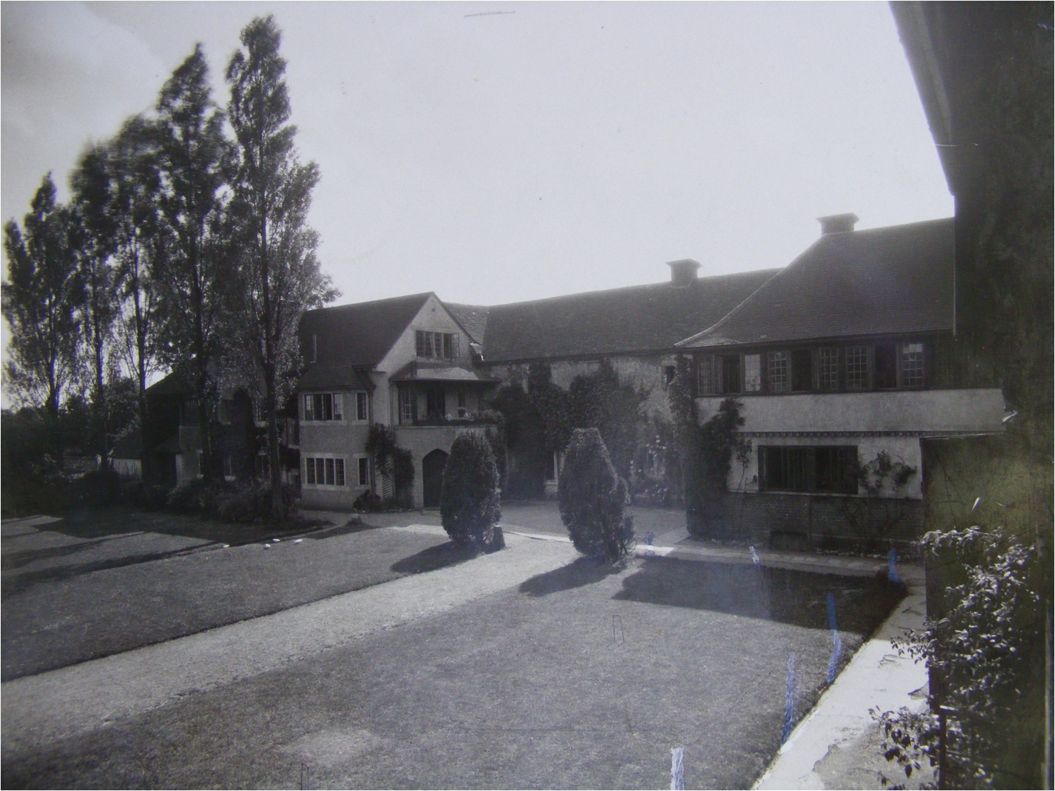 The Priory School, Kings Langley in 1922, as Rudolf Steiner would have seen it when he visited in April of that year.
