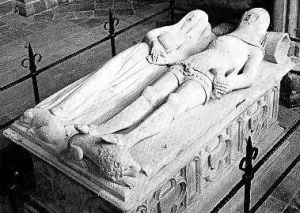 The tomb of the Earl and Countess of Arundel in Chichester Cathedral (photo via E-Verse Radio)