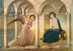 Fra Angelico's Angel of the Annunciation