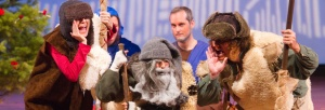 A production of The Shepherds' Play from the Waldorf School of the Peninsula.