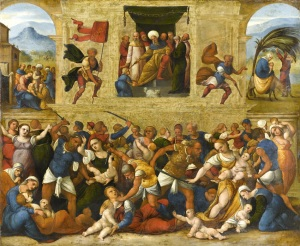 The Massacre of the Innocents by Lodovico Mazzolin