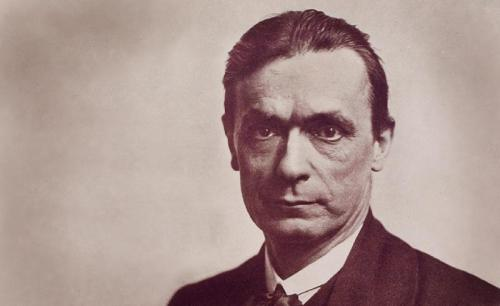 Rudolf Steiner via Adoc photos - Corbis