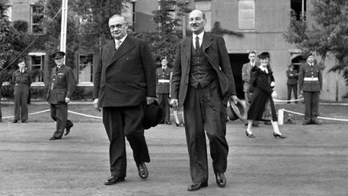 Bevin and Attlee