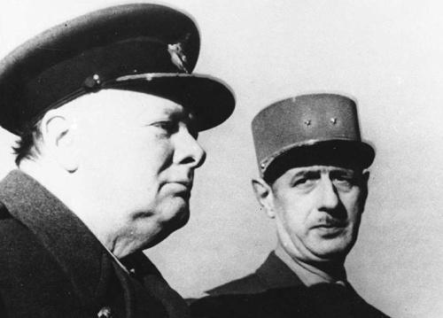 Churchill de Gaulle
