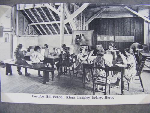 pupils in barn