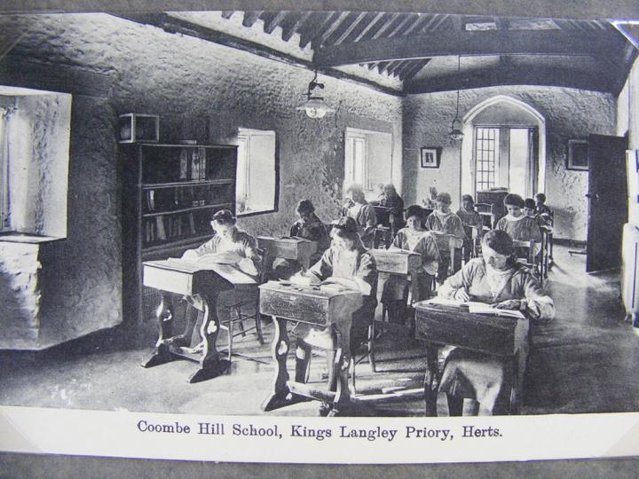 pupils in chapel