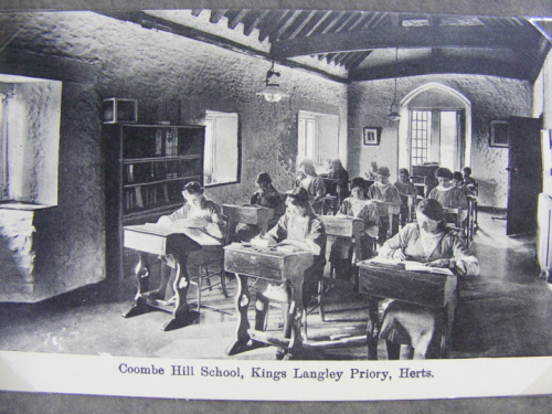 pupils in chapel