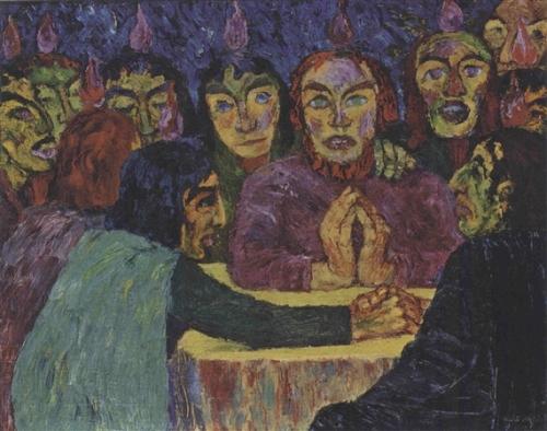 Emil Nolde 1909 via MutualArt